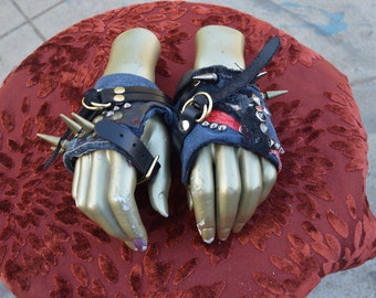 Circus Gypsy Psycho Punk Gloves