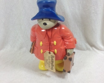 Vintage Paddington Bear Shampoo Bottle 1994 Paddington Collectible Bottle