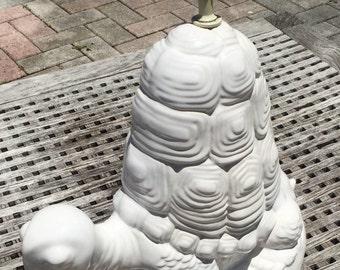 Monumental Mid-Century Italian Ceramic Turtle Lamp
