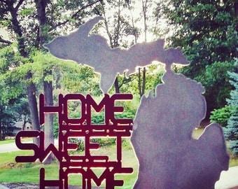 Metal Art- Home Sweet Home