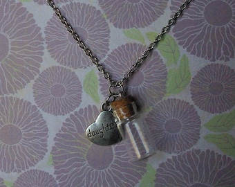 Rip necklace etsy for Father daughter cremation jewelry