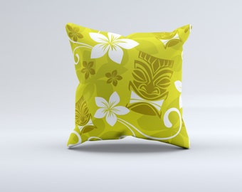 Hawaiian pillows,Aloha spirit pillow, Big wave surfer pillows,couch pillow,Tikki  pillows, Pacific Island pillows.bedding pillows, Hawaii.