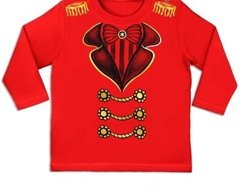 Ringmaster Costume long sleeve baby t-shirt