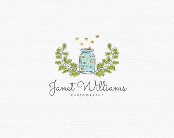 Fireflies Logo Photography Logo