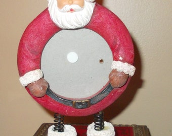 Standing Santa Picture Frame