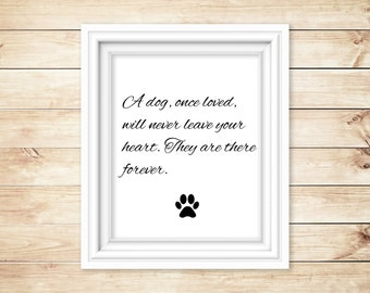 Printable Dog Quote