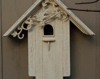 Reclaimed Barn Wood Birdhouse