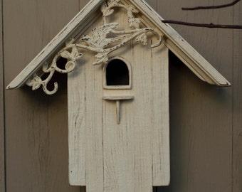 Reclaimed Barn Wood Birdhouse