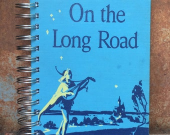 Vintage Book Journal, On the Long Road