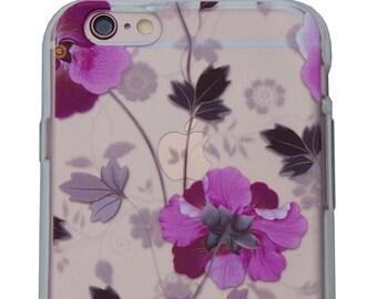 Floral Case for iPhone 6 Plus / 6s Plus - Viola