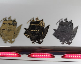 Navy Enlisted Custom Laser Cut Emblems