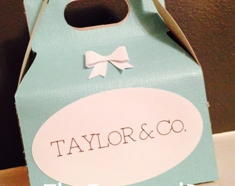 Baby & Co. Mini Favor Box