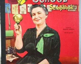 Vintage 1953 Ding Dong School Scrapbook-Miss Frances