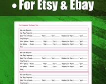 Cost Comparison Worksheet and Video Walkthrough for Etsy and Ebay Pricing   For Etsy Sellers, For Ebay Sellers, Vintage Sellers and Pickers