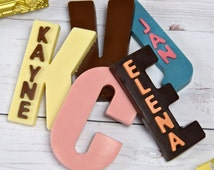 Chocolate Initials / Chocolate Letters