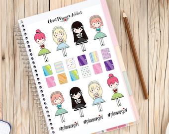Planner Girls Planner Stickers | Planner Girls | I Love Planning Stickers (S-135)