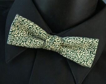 Bow Tie Cotton Leaf Pattern
