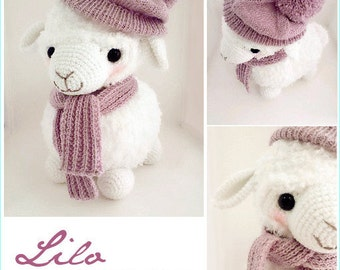 Lilo The Baby Alpaca Amigurumi Crochet Doll Plush *Made to order*