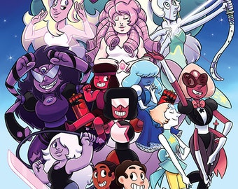 PRINT // Steven Universe: The Crystal Gems