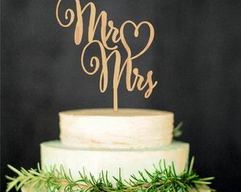 Mr Mrs topper Bride Groom Wedding Cake Topper