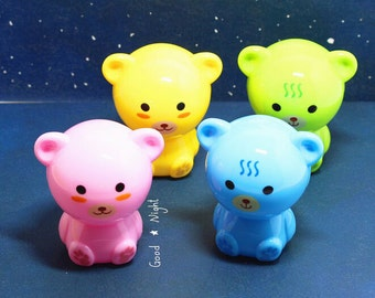 Baby Bear Pencil Sharpeners / Kawaii Pencil Sharpeners / Cute Pencil Sharpeners / Cute Stationery / Kawaii Stationery / Cute School Supplies