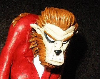 James Dean Werewolf Polymer Figure