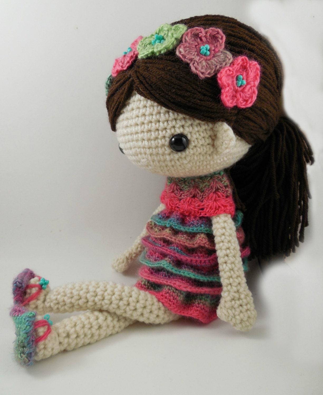 Claudia Amigurumi Doll Crochet Pattern Pdf By Carmenrent