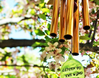Wind Chimes of Remembrance Unique Memorial garden wind chime gift after loss custom gift loss of loved one family or baby in memory of