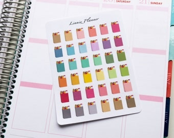 Grocery Bag Regular size (matte planner stickers, perfect for planners)