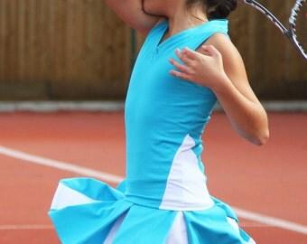 Tennis Skirt & Top Girls Simona | Girls Tennis Clothes | Junior Tennis Apparel