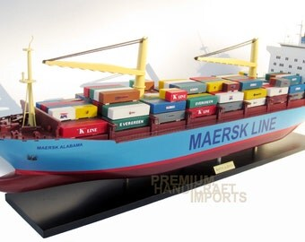 "Maersk Alabama Ship Model 36"" New !!!"