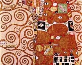 Embrace Gustav Klimt Printable vintage picture Art Nouveau best seller digital modern famous illustration craft supplies Ihappywhenyouhappy