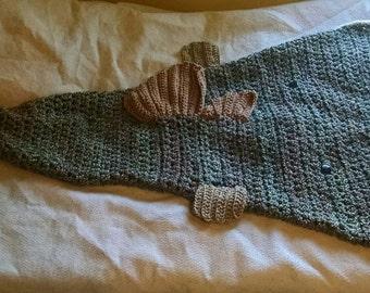 Bass Fish Cocoon Blanket