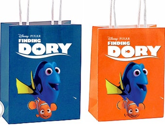 Finding Dory Party Favor Bag Printable Instant Download