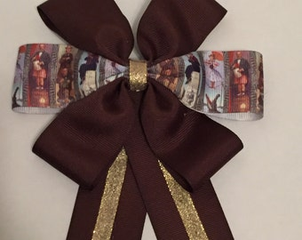 Haunted Mansion Stretching Portraits Hair Bow
