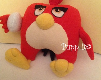 Inspired plush Angry Birds - Red bird