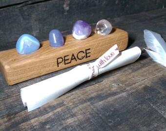 Peace crystal set - Reiki Infused