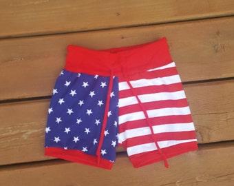 American Flag Shorts/4th of July Shorts/Patriotic Shorts