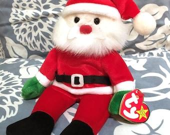 December 6th. Santa, Ty Beanie Baby