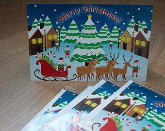 Christmas cards [English inside]