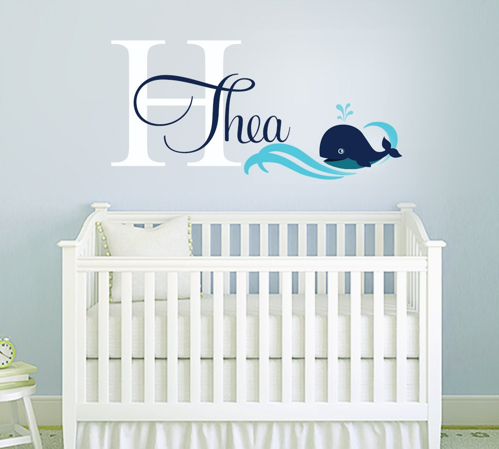 monogram initial wall decal highest quality pics