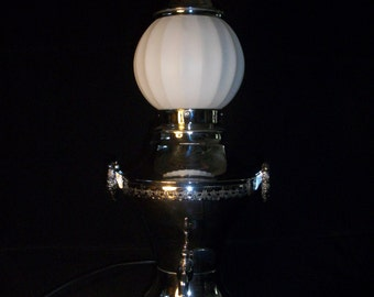 Vintage Coffee Urn Lamp