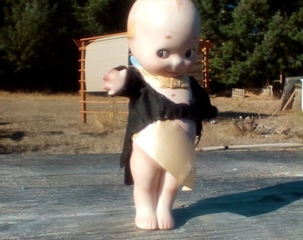 1912 signed Bisque Kewpie doll