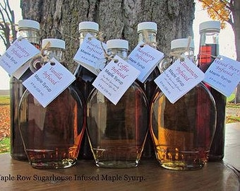 Infused Maple Syrups