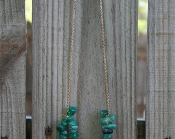 Teal Double-Strand Stones