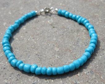 Indian Glass Seed Bead Bracelet