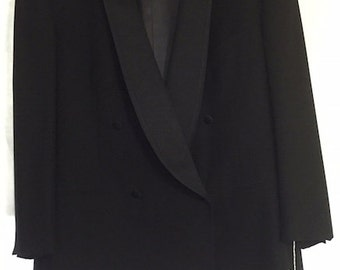 Designer, Made in Switzerland Tux (Jacket & Pants) - NEW condition/NEVER worn (size 42)