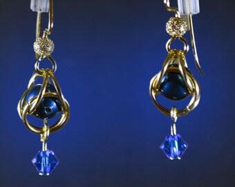 Swarovski Captured Pearl Earrings