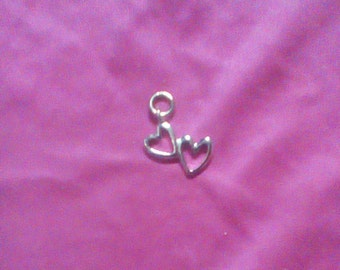 Joined Hearts Charm