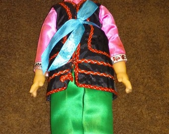 Chinese Folk Doll made in The People's Republic of China